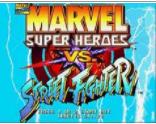 超级漫画英雄对街头霸王(美版)