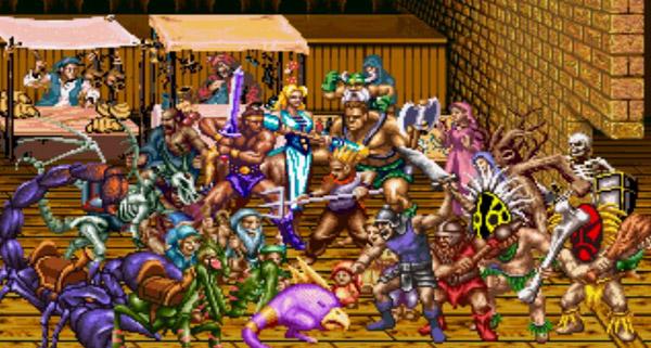 战斧二代之帝王的复仇_街机游戏战斧二代之帝王的复仇出招表