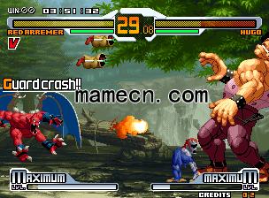 拳皇对街霸SNK Vs. Capcom出招表