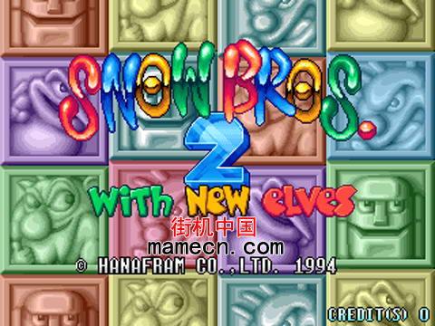 雪人兄弟2 Snow Bros. 2详细介绍