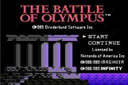 奥林匹斯之战
