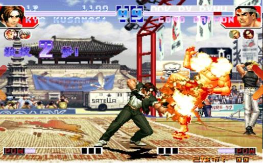 拳皇97简易出招手机版