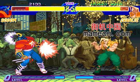 少年街霸阿尔法二版 Street Fighter Alpha(set2)