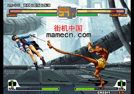 拳皇对街霸PCB版 SNK vs. Capcom - SVC Chaos(JAMMA PCB)