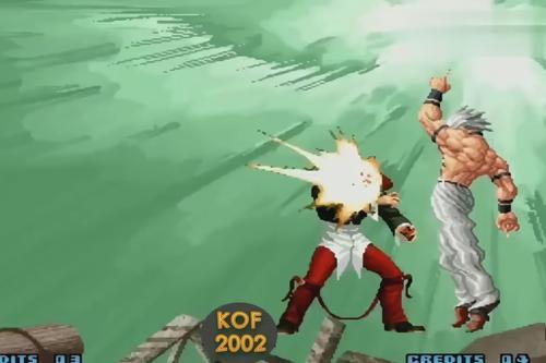 拳皇2002 The King of Fighters 2002倒地追打技表