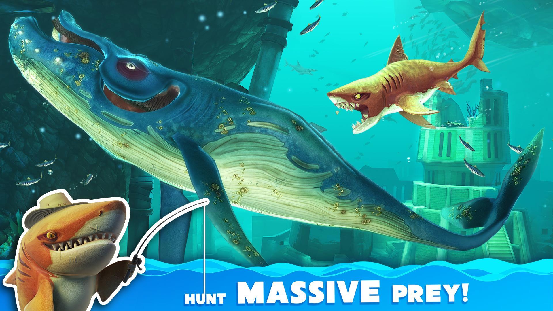 饥饿鲨:世界官方解锁版