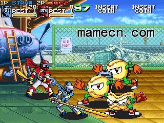 忍者棒球Ninja Baseball BatMan基本操作出招表