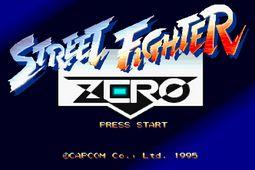 少年街霸ZERO对手瞬死正宗移植原版apk