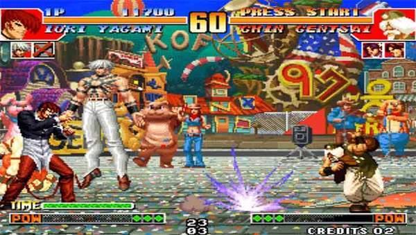 拳皇97风云再起手机移植版