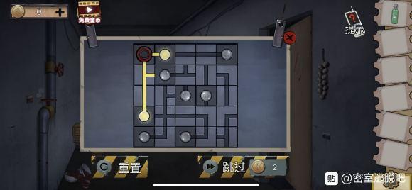 密室逃脱绝境系列11游乐园点亮灯怎么过?