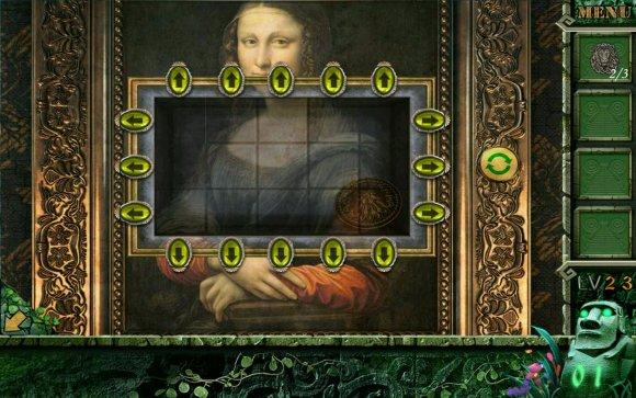 密室逃脱越狱100个房间之九蒙娜丽莎拼图攻略