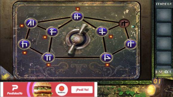 密室逃脱越狱100个房间之三第3关小游戏攻略