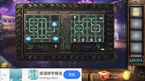 密室逃脱越狱100个房间之四第3关小游戏攻略