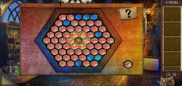 密室逃脱越狱100个房间之八第14关小游戏攻略