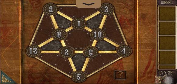 密室逃脱越狱100个房间之七第35关小游戏攻略