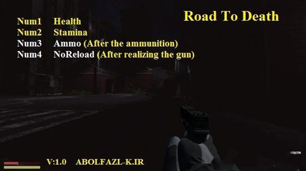 死亡之路(Road To Death)四项修改器v1.0 Abolfazl版