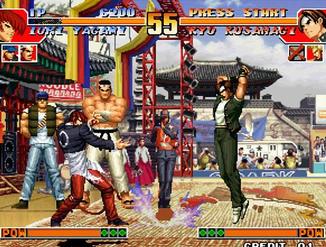 拳皇97难度:非常困难安卓版