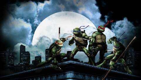 街机版忍者神龟1代无伤最速通关介绍视频