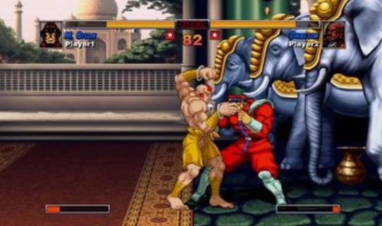 《超级街霸2》维嘉不愧是游戏BOSS,游戏视频介绍