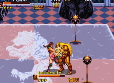 经典街机《异种角斗士》游戏包含内容欣赏