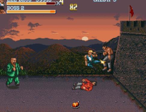 《双截龙3》罗塞塔之石,著名街机动作游戏欣赏