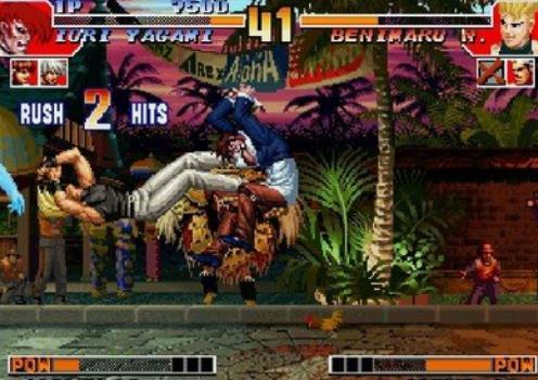 拳皇97降龙屠蛇版游戏介绍