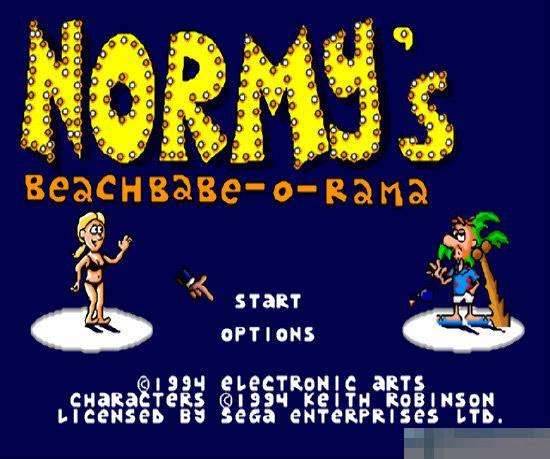 海滩宝贝MD游戏