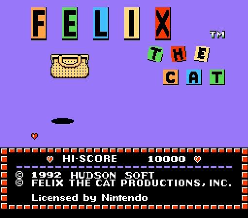 FC游戏《菲力猫》一命通关视频攻略分享