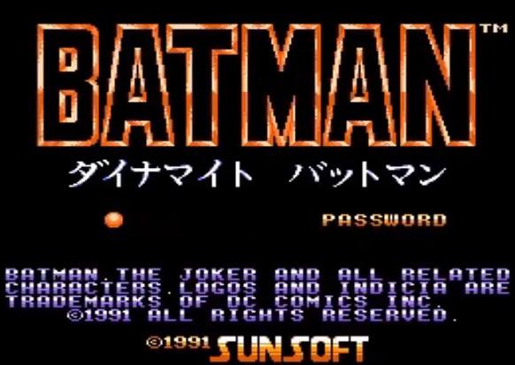 FC游戏《蝙蝠侠:小丑归来》一命通关视频攻略分享
