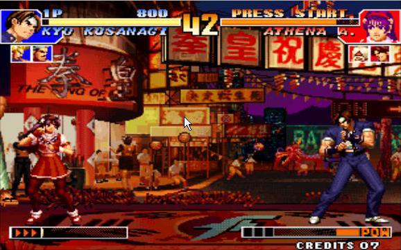 拳皇97出招表电脑版