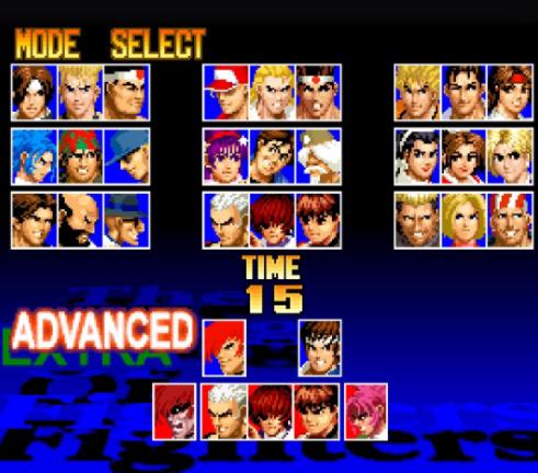 拳皇97全角色能量反击攻破方法