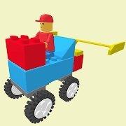 积木方块赛车