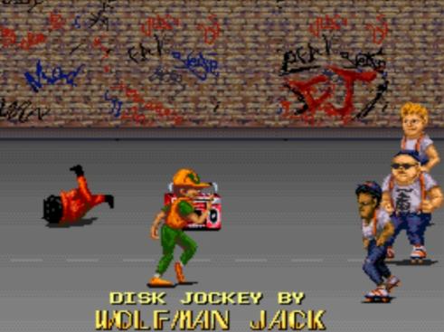 街机资源帖:找一款两个男孩在街头闯关的街机游戏