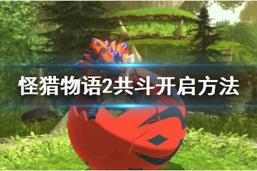 《怪物猎人物语2》共斗怎么开