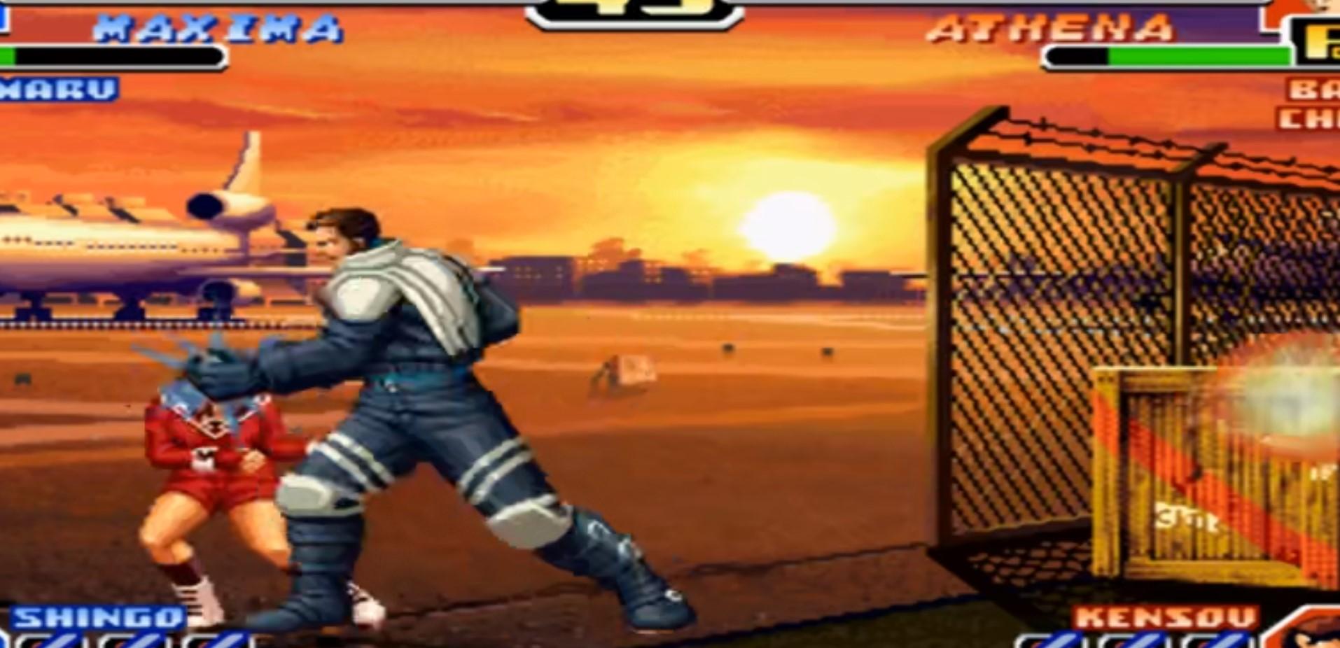 拳皇99出招简化版