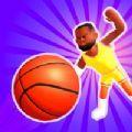 空氣球3D籃球賽跑者游戲