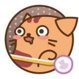愉悅年糕貓
