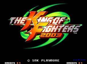 拳皇2003(The King of Fighters)mame32p版