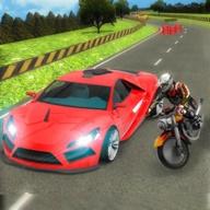 摩托车对决赛车安装