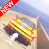 巨型舷梯汽车驾驶特技